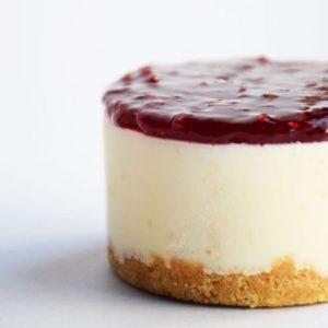 Torta Cheesecake al lampone