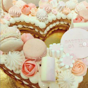 Torta Cream Tart (a cerchio o a cuore)
