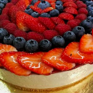 Torta Cheesecake alla frutta