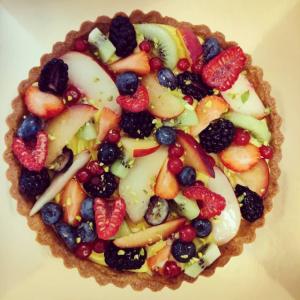 Torta Crostata di frutta